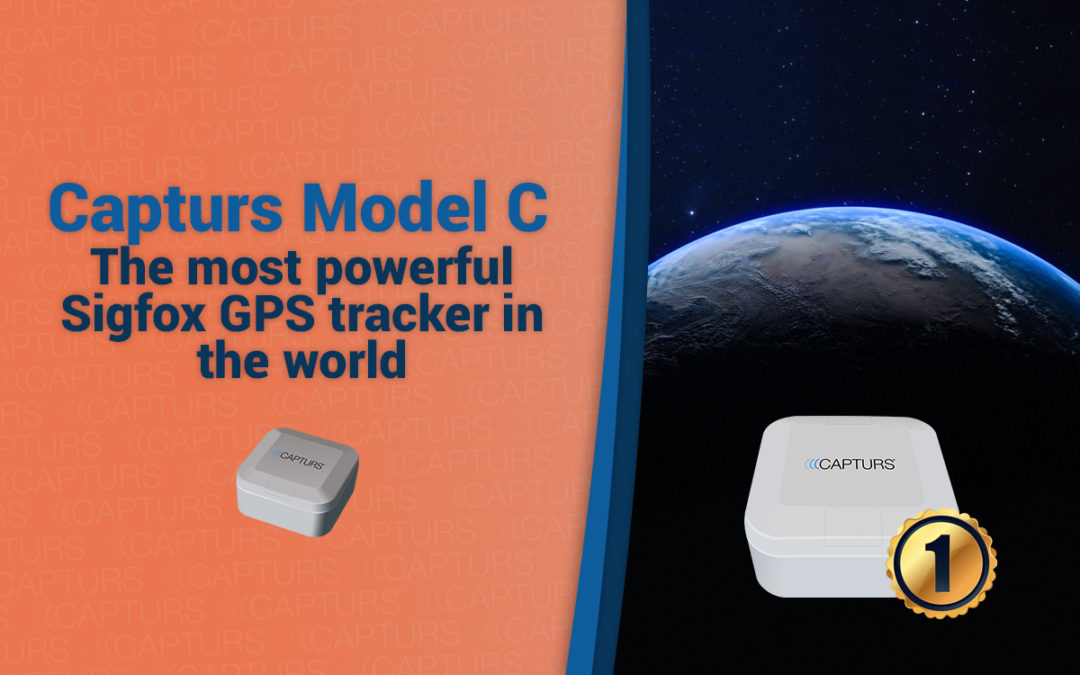 Capturs Model C is the most powerful Sigfox GPS tracker in the world
